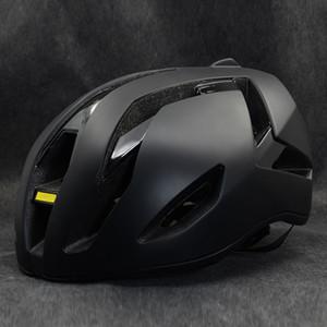 2020 Nouveau casque de vélo de route aéro style pour hommes ou femmes casque de vélo Casques de vélo ultra-léger Cascos noir taille M 54-60cm