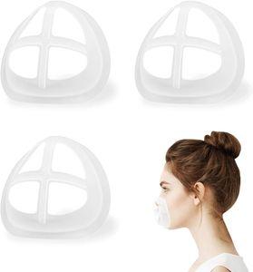 Маска для лица Внутренней поддержки Рамки Самодельной Ткань маски Прохладных силиконового кронштейн Больше пространства для удобных дыхательного моющегося Многоразово
