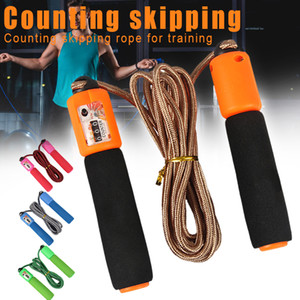 Hot Skipping Rope Jump Rope Cable for Exercise Fitness Training Sports with Counter MVI-ing