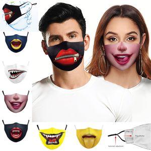 2020 en Europe et en Amérique du chaud meilleurs crocs de vente protection de l'impression numérique masques anti-poussière Designer smog peut être nettoyé et mis des masques filtrants