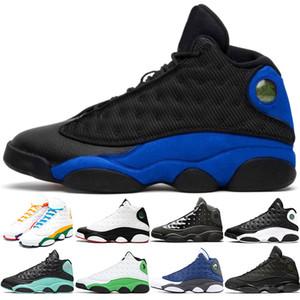 Nike Air jordan 13 Retro Erkekler Basketbol Ayakkabı 13 Tasarımcı Chaussures 13s Ada Yeşil He Got Game Rakipler Playoff Erkek Eğitmenler Sport Sneakers