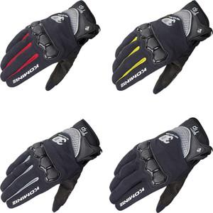 NOVO GK-162 GK 162 3D Protect Luvas de malha Touchscreen Além disso Motocicleta Bike Cycling equitação Luvas MX MTB