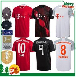 20 21 Bayern Munich Coutinho VIDAL Lewandowski MULLER Robben hogar lejos camisetas de fútbol 2020 de la camisa de deportes hombres adultos + niños del kit de fútbol