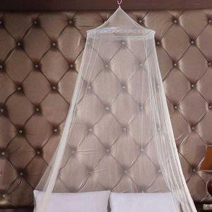 Универсальный Элегантный круглый Lace насекомых Bed Canopy Сетки занавес купола Полиэстер Постельные принадлежности Москитная сетка Мебель для дома Dropshipping