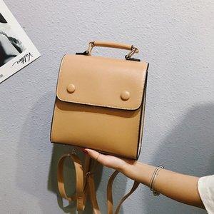 Trucco Challen Mini delle donne dell'annata Backpack Classic Leather Back Pack Ragazze sacchetto della copertura del Soft Touch Zaini sacchetto femminile 80Vi #