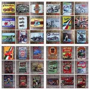 Arte del arte del cartel del metal de chapa por Sinclair Motor Oil Texaco Pegatina Hierro Pintura Inicio Decoración restaurante bar decoración de la pared DHC1899