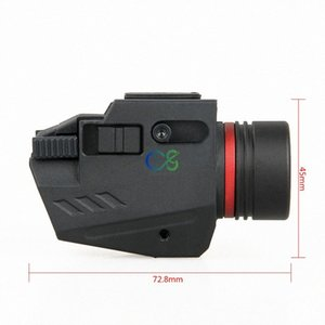 TRIJICON New Arrival Red Laser Tactical Flashlight Compactsubcompact 150 Lumen For Gun Lights Hunting Hunting Shooting Gs150124 ba6B#