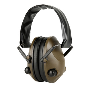 TAC 6S Anti-Noise Audio Headphone Tactical Shooting Headset Soft Padded Electronic Earmuff for Sport Hunting Outdoor Sports K850G