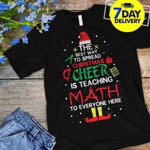 Öğretmen Best Way Yayılması Noel Cheer Is Öğretim Matematik Gömlek Noel Chris