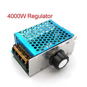 Piezas de reemplazo barato Accesorios 4000W 220V AC SCR regulador de voltaje atenuador Motor eléctrico regulador de la velocidad NUEVO