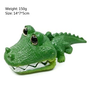 Cute Resin Aquarium Ornament Mini Frog Crocodile Aquarium Fish Tank Decoration Bubble Resin Animal Accessories
