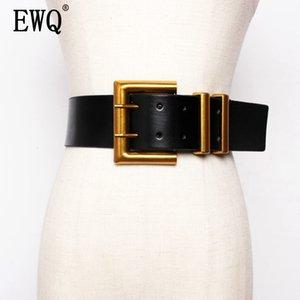[EWQ] 2020 Belt Decoration Match Skirt Overcoat Ins Wind Belt Concise All-match Outside The Ride Waist Belt 19C-a100-01-0 T200827