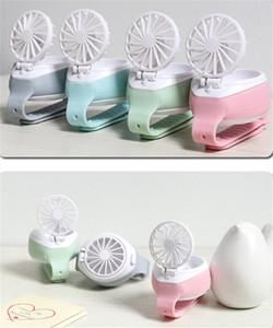 2020 Nuevo Fan reloj de mano pequeño ventilador creativo Pequeños Electrodomésticos Aire acondicionado Ventilador Mini Lazy