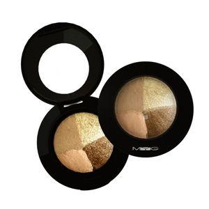 4-color Eye Shadow Long-lasting Waterproof Smudge-proof Eyeshadow Powder Beauty Cosmetic
