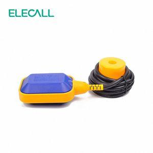 ELECALL EM15-2 2M 컨트롤러 플로트 스위치 액체는 액체 유체 수위 플로트 스위치 컨트롤러 접촉기 센서 wtOV 번호 전환