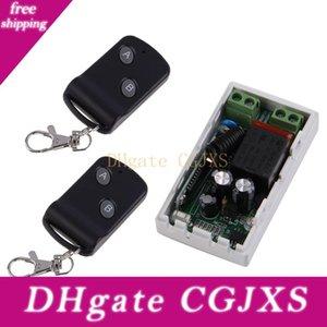315MHz sem fio AC220v 1Cr 2 Botões Transmissor Receptor 2 de controlo Controladores do módulo de comutação remoto transreceptor RF