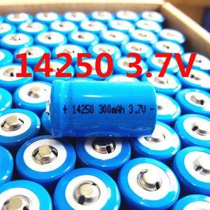 10pcs 1 / 2AA Battery 14250 300mAh 3.7V 3.6V 300mAh 1/2 pilhas AA de lítio para GPS medidor de água eletricidade ls14250 er14250 li io