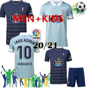 Man And Kids 2020 2021 RC Celta Vigo soccer jersey 20 21 Celta de Vigo BONGONDA HERNANDEZ NOLITO home away football shirt jerseys 2020