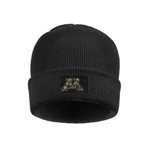 Мода Миннесота Золотой суслики черный камуфляж Логотип громоздкая смотреть Beanie Hat Ролл Шляпы эффект 3D Flag Проблемные Красный Серый Футбол