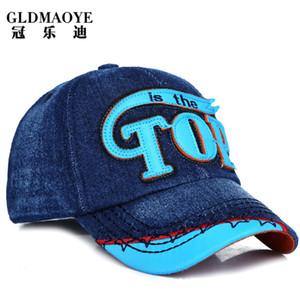 Comércio Exterior Nova Childrens Sun Hat Casual Cowboy Baseball Cap Outdoor Sports All-jogo Cap uma geração de cabelo