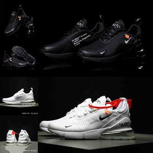 NIKE AIR MAX 270 sapatos almofada de ar de homens e mulheres sapatos desportivos amortecimento de alta elástica respirável antiderrapantes sapatos casuais ao ar livre baixos-top