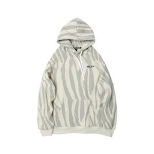 E-Baihui 2020 Japanese Original Autumn and Winter Hooded Sweater Trend, Plus Velvet Thick Pattern Coat Couple Top DM-D1021