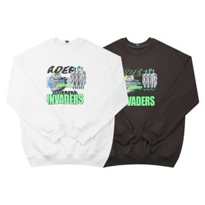 ins Korean fashion brand Ader satellite men's cotton terry boys and girls same round neck sweater three standardRKSF