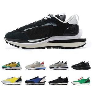 sacai Noir Blanc Vaporwaffle Hommes Chaussures de course Gris clair LDV Waffle Undercover x Daybreak lumineux Citron hommes femmes sport Baskets Sneakers