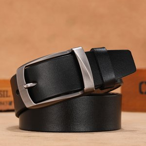 Men Luxury High Quality Cow Genuine Leather Plus Size Belts Waist Strap Vintage Cowskin Belt Jeans Cummerbunds Ceinture Homme