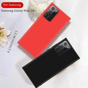 Para Samsung Galaxy Note20 caso da tampa A21S A10S A01 A21 A31 A41 A51 A71 A81 A91 Silicone Líquido Suave à prova de choque Phone Case Ultra Bumper