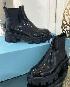 2020 مصمم الأحذية الفاخرة تقع النساء / شتاء عارضة الأزياء والأحذية والجلود والأحذية تبو القاع عدم الانزلاق مقاومة للاهتراء ارتفاع كعب 6cm وsize35-39