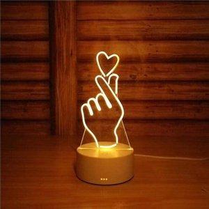 cgjxs3d pequeña de la noche -Light Pequeño 2018 Nueva Pequeño lámpara de escritorio de la lámpara regalo táctil USB remoto de dinosaurio de control originalidad acogedor lámpara de cabecera de 7 colores