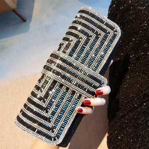 New-Women Evening Clutch Bag Ladies Day Clutch Purse Chain Handbag Bridal Wedding Party Bag Bolsa Mujer1