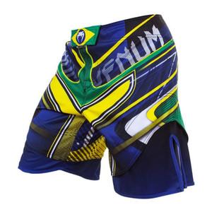 New island Quality goods-MMA UFC SANTA MUERTE 2.0 FIGHT SHORTS -MMA Muay Thai Boxing Sport Camo Pants stone Beach Shorts Swim shorts