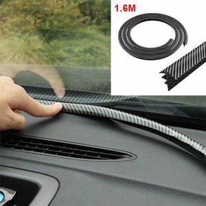 1,6М углеродного волокна Уплотнительная прокладка приборной панели автомобиля Gap Заполнение шумоизоляция лобового Зазор Звукоизолированный приборной панели автомобиля Уплотнительная прокладка ByW1 #