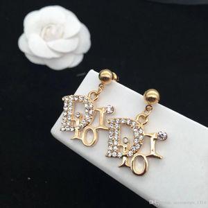 Corea nuove lettere net lampo rosso di diamanti orecchini personalità femminile orecchini esagerati 925 temperamento ago accessories12