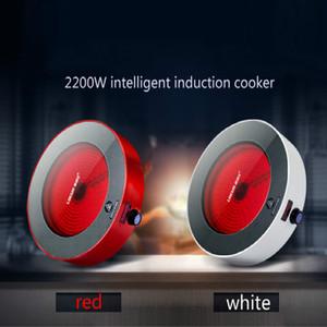 طباخات التعريفي 2200W أجهزة المطبخ المنزلية الكهربائية سيراميك موقد طباخ ذكي مناسب لمجموعة متنوعة من الأواني