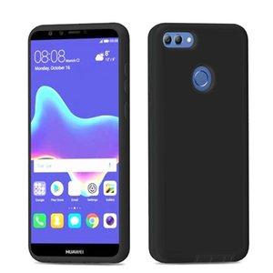 cgjxs Cgjxsfor Huawei Y7 Prime 2018 Y7 2018 Genießen 7c Hybrid Tpu Pc 2 in 1-Rüstungs-Kasten Shock -Proof Phone Cases A