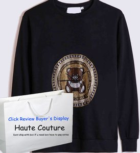 Mxxxxino para hombre Nueva Moda Hoodies 2020 oso patrón de lentejuelas de moda Hiphop Niños Jerseys alta costura Puentes para la venta al por mayor lll208185