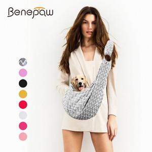Benepaw Einstellbare Zweiseiten Nutzbare Kleiner Hund Sling-Rucksack Breath Hündchen Reisetasche Haustier-Riemen-Fördermaschine Sicherheitsschloss