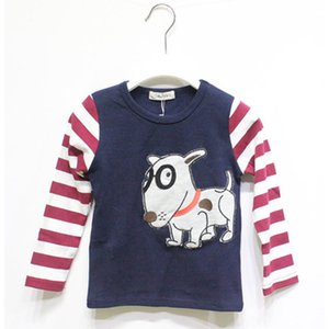Spring Autumn Cartoon Toddler Boy T Shirt Baby Boys Clothing Shirt Long Sleeve Casual Children Clothes Kids