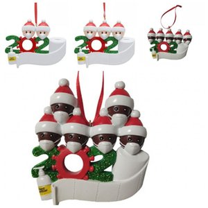 Blessing Merry Christmas Tree Decorations Resin Pendant Family Snowman Home Decorate Ornaments Sold Well Popular 10 5hm H1 BWC2404