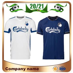 Yeni 2020 Kopenhag futbol forması 20/21 Ev 10. ZECA Futbol Gömlek # 14 N'Doye # 29 SKOV Özelleştirilmiş Deplasman futbol üniforma