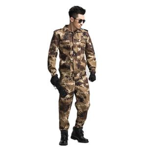 Jagd Sets Armee Anzug Männer Militäruniform im Freien taktischen Kampfkampfjacke + Hose Jagdbekleidung Set Multicam-Kostüm