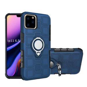 Cgjxstpu + Pc montaje del coche del imán resistente estuche para Iphone 6 7 8 6s Plus X Xs Xr 11 Pro prueba de golpes Tapa Max