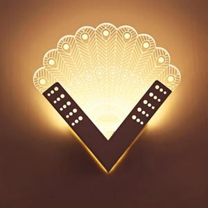 Coquimbo Eisen + Acryl Moderne LED-Wandleuchte für Schlafzimmer Wohnzimmer Wandleuchte Innenbeleuchtung Lampen-Licht-Innenbeleuchtung