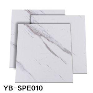 벽 자체 접착 많은 creamic 타일 주방 거실 장식에 새로운 30 * 30cm 방수 SPE 바닥 스티커 껍질 스틱