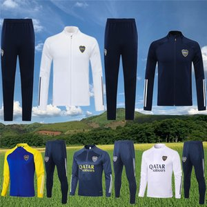 Boca Juniors Куртки Tractsuit 2020 21 Тевес Футбол Джордженг De Rossi Учебный костюм Марадона Футбольное выжитие