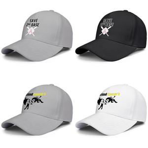 Fashion Baseball Cap Save 2nd Base Breast Cancer.JPG Adjustable Ball Hat Cool Personalized Trucker Cricket I Kicked Cancer's Ass donkey