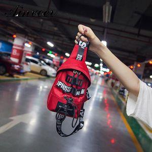 Ainvoev New Running Purse Fashion Women Pack Sports Waist Bag Money Pouch Phone Pocket Belt Bags Small Mini Messenger Handbag